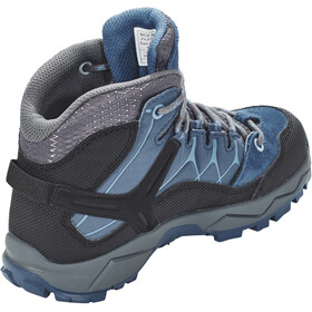 SALEWA Alp Trainer Mid GTX Chaussures Enfant, dark denim/charcoal